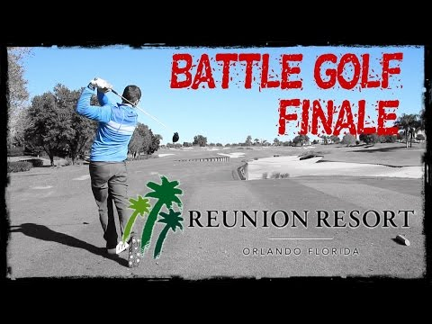 BATTLE GOLF FINALE at Reunion Golf Resort, Orlando