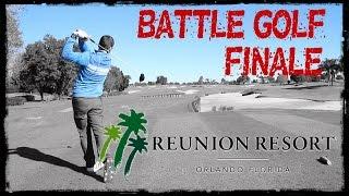 BATTLE GOLF FINALE at Reunion Golf Resort, Orlando