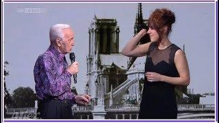Charles Aznavour Et Zaz      'J'aime Paris Au Mois De Mai'