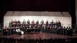 Delano High Platinum Choir performing Amavolovolo-Zulu Song