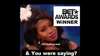 Remy Ma WON Best Female Hip Hop Artist at the Bet Awards OMG 😱 #BETAwards2017 #RemyMa