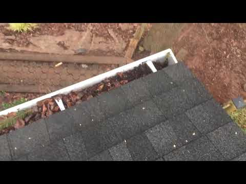 Why Water Is Leaking Behind A Gutter Roofer911 Com