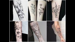 Perfect Botanical Ink Tattoo Design Ideas - Beautiful Floral Tattoos