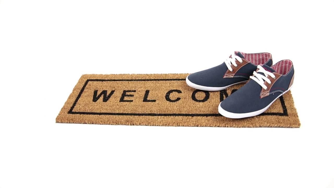 Video von: Fußmatte 'Welcome' Kokos 25x75 cm