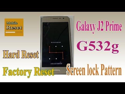 Download Hard Reset Samsung Galaxy J2 Prime Pattern Lock