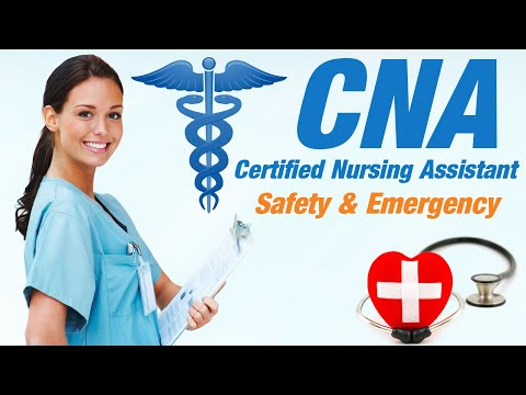 CNA Practice Test - Safety and Emergency Procedures #1 - YouTube