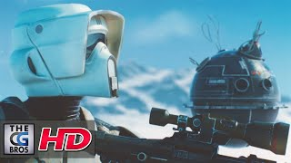 """CGI 3D/VFX Breakdown: """"Filming on Hoth: A Battlefront Movie Shot"""" - by Miran Dilberovic"""