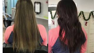 HOW TO GET DIMENSION IN THE HAIR BY ADDING LOWLIGHTS.