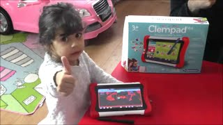 Kinder Tablet? My first Clempad 3-6 von Clementoni |Review