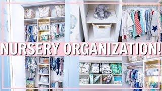 NURSERY ORGANIZATION IDEAS & HACKS! | Alexandra Beuter