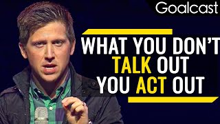 Do Not Run Away, Face Your Challenges | Josh Shipp Speech | Goalcast