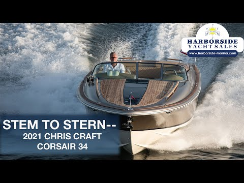 Chris-Craft Corsair 34 video