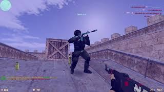 [CS 1.6] NAS Deathmatch GunSlingers @ 1440 x 1080p 185hz