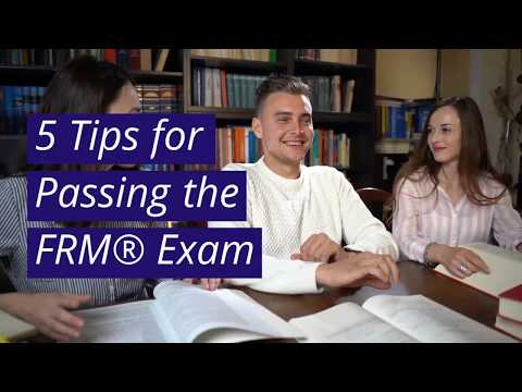 5 Tips for Passing the FRM® Exam - YouTube