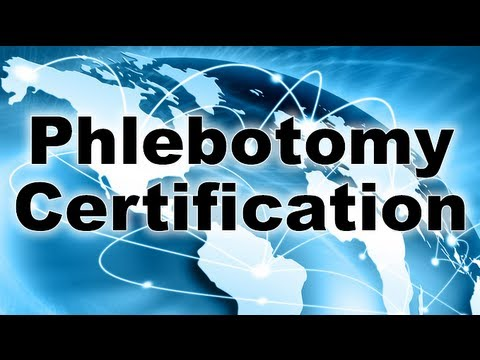 Phlebotomy Certification Help - Review Your Phlebotomy ... - YouTube