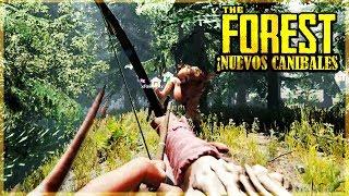 CANIBALES CON MASCARAS DE CARNE HUMANA - THE FOREST #15
