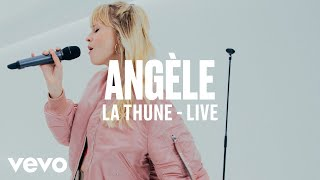 Angèle   La Thune (Live) | Vevo DSCVR ARTISTS TO WATCH 2019