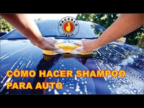 Shampoo Para Auto - Cómo Hacerlo fácil y Muy Barato | Hacerlo Fácil