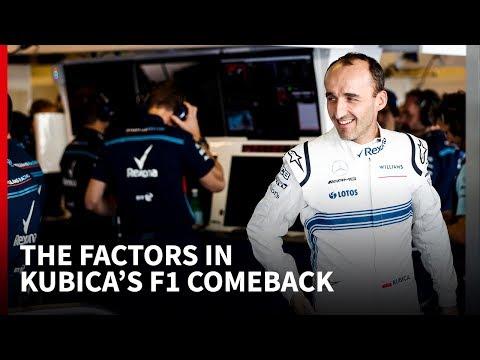 How Robert Kubica got the 2019 Williams F1 drive