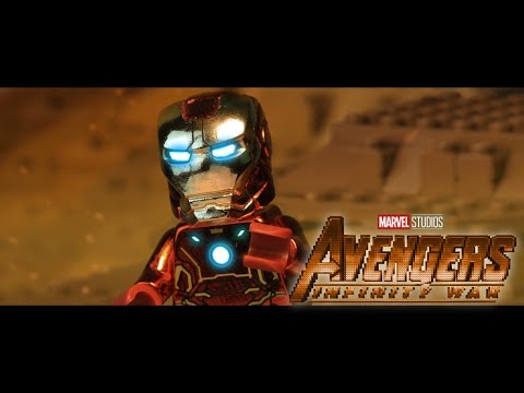 AVENGERS: Infinity War Official Trailer in LEGO! (видео)