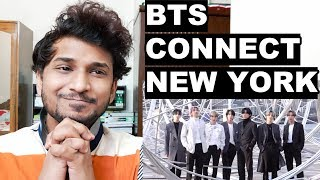 BTS at the CONNECT exhibition in New York - FJ MANIA REACTION