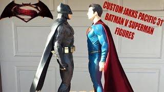 Jakks Pacific Batman V Superman Figures (Custom)