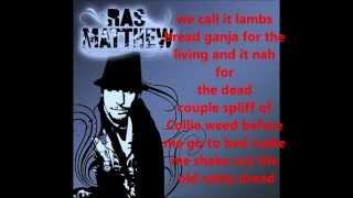 Ganja In My Brain Lyrics (official) Ras Matthew