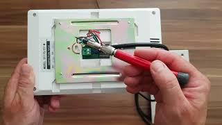 Produktvorstellung 2 Draht Video Türsprechanlage, PREMIUM Videotürsprechanlage