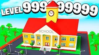 I BUILT A LEVEL 999,999,999 ROBLOX SCHOOL