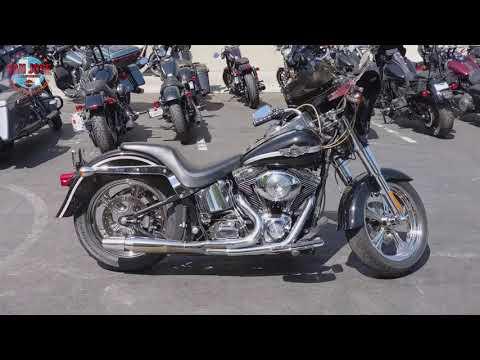 2003 Harley-Davidson FLSTF/FLSTFI Fat Boy® in San Jose, California - Video 1