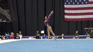 Sunisa Lee– Floor Exercise – 2019 U.S. Gymnastics Championships – Senior Women Day 1