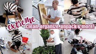 *NEW* EXTREME CLEANING & ORGANIZING | TACKLING OUR TO DO LIST | CLEANING MOTIVATION