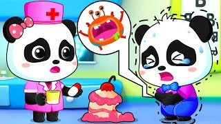 Germs In The Hospital | Good Habits Song | Lagu Anak-anak | Bahasa Indonesia | BabyBus