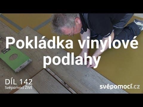 Pokládka vinylové podlahy click