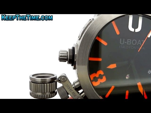 Huge U-Boat U1001 Limited Edition Watch (HD Video Review)