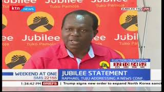 Jubilee issues new demands to IEBC ahead of the repeat presidential polls