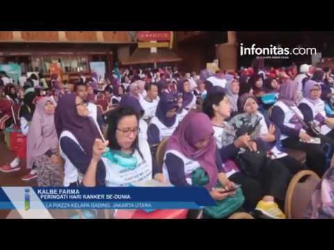 Kalbe Farma Peringati Hari Kanker Se-Dunia, La Piazza Kelapa Gading, Jakarta Utara
