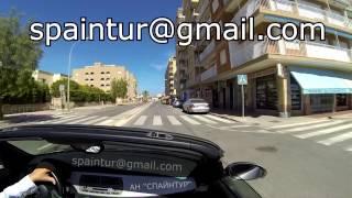 preview picture of video 'Santa Pola, Alicante, РЕПОРТАЖ, рассказ и показ урбанизаций и пляжа, Сергей Езовский'