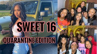 16th BIRTHDAY IN QUARANTINE VLOG | IAMMIAH