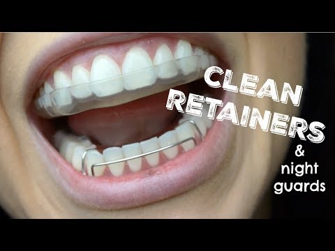 How To Clean Retainers and Night Guards