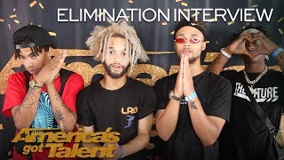 Elimination Interview: The Future Kingz Send Love To Their Fans - America's Got Talent 2018 thumbnail