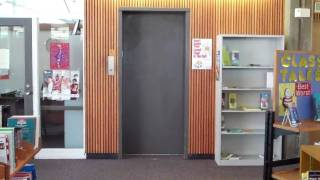 preview picture of video 'Fitchburg: Beckwith Hydraulic Elevator @ Fitchburg Public Library'