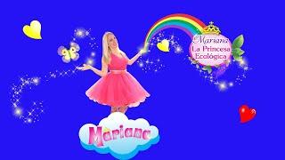 Mariana La Princesa Ecológica en la Tv de UNLAM