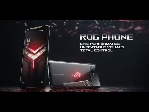 Epic performance. Unbeatable visuals. Total control. - ROG Phone | ROG