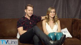 Melissa Roxburgh & Josh Dallas - TVLine