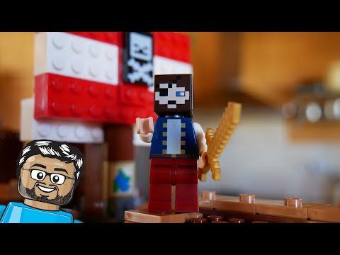 Vidéo LEGO Minecraft 21152 : L'aventure du bateau pirate