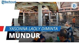 Buntut Kebakaran Lapas di Tangerang, Menkumham Yasonna Laoly Diminta Mundur karena Dinilai Lalai