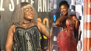 Abryanz Fashion And Style Awards Red Carpet  2019. Full Figure Yegase Ku Ba Slay Queen