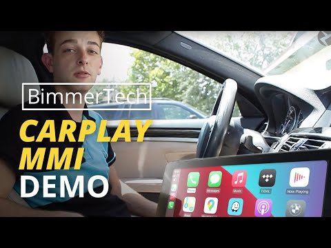 BimmerTech Apple CarPlay Fullscreen Demo in BMW F30