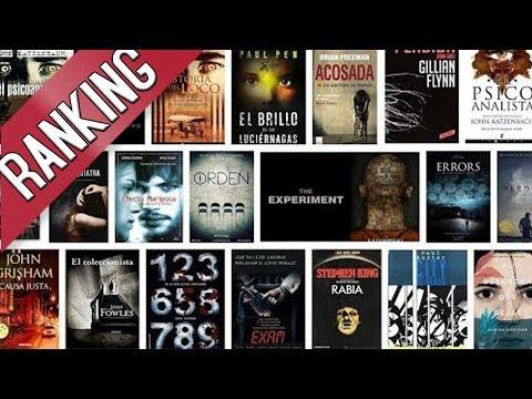 Mejores Libros de Thriller Psicológicos, Misterio y Suspenso | TOP LIST